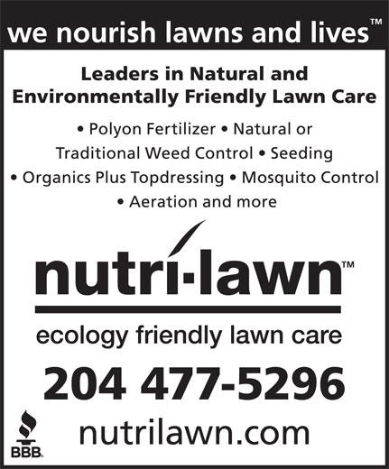 Nutri-Lawn (204-477-5296) - Annonce illustrée======= -