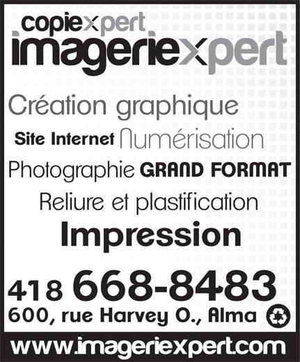 ImagerieXpert (418-668-8483) - Annonce illustrée======= -