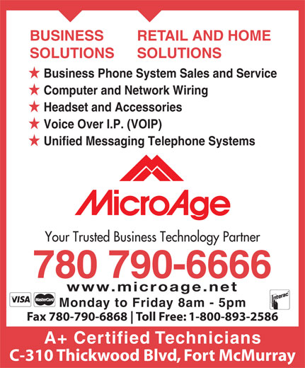 Microage Computer Centres (780-790-6666) - Display Ad -
