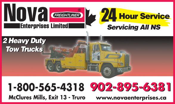 Nova Truck Centres (902-895-6381) - Display Ad - www.novaenterprises.ca