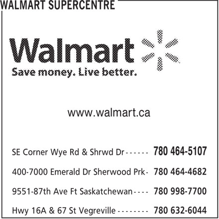 Ads Walmart Supercentre