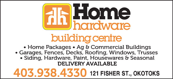 Home Hardware Building Centre (403-938-4330) - Display Ad -