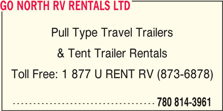Ads Go North RV Rentals Ltd