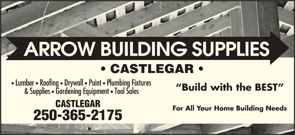 Rona (250-365-2175) - Display Ad - CASTLEGAR Lumber   Roofing   Drywall   Paint   Plumbing Fixtures Build with the BEST & Supplies Gardening Equipment Tool Sales CASTLEGAR For All Your Home Building Needs 250-365-2175