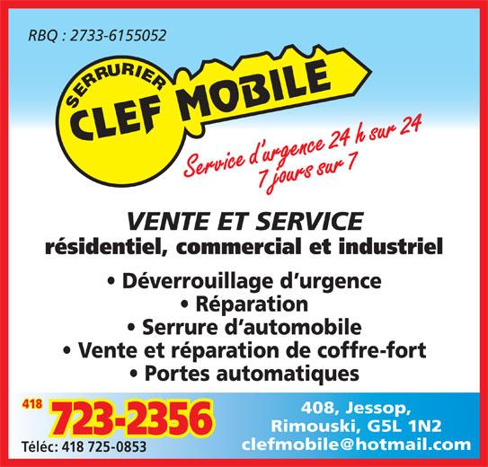 Ads Serrurier Clef Mobile