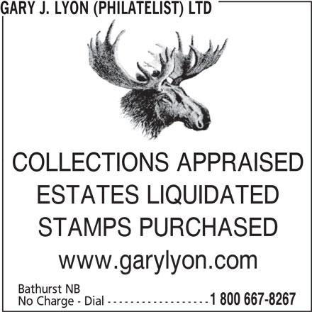 Gary J Lyon Philatelist Ltd Bathurst NB Bathurst Canpages