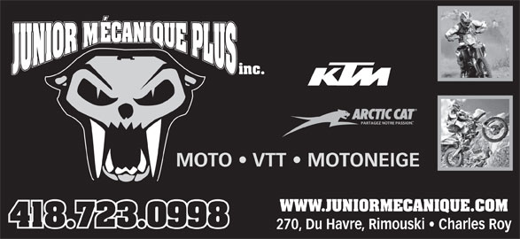 Garage junior m canique plus 270 av du h vre rimouski qc for Logo garage mecanique