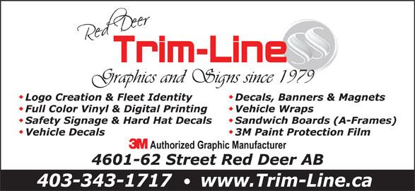 Trim-Line Of Central Alberta Ltd (403-343-1717) - Annonce illustrée======= -