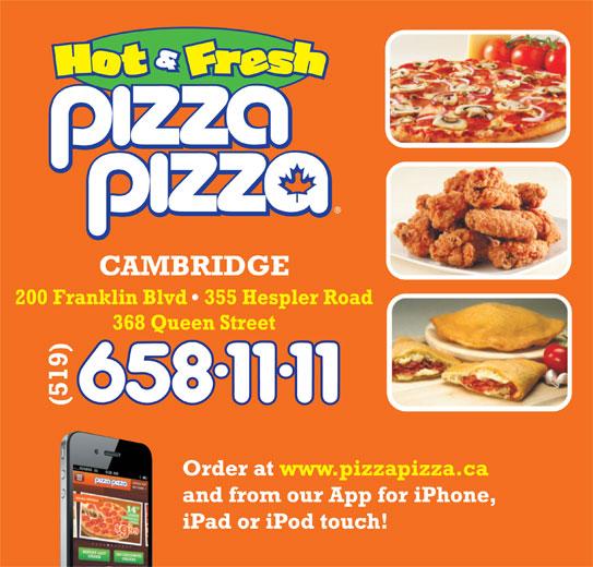 Pizza Pizza (519-658-1111) - Annonce illustrée======= -