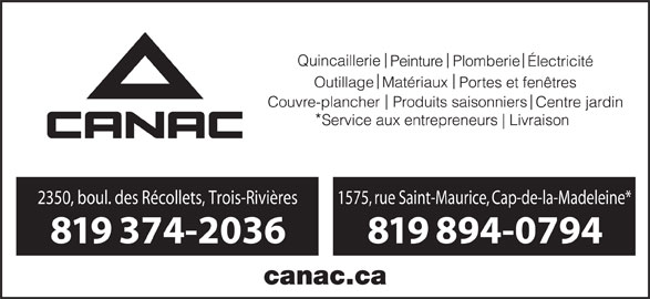 Ads Canac-Marquis Grenier