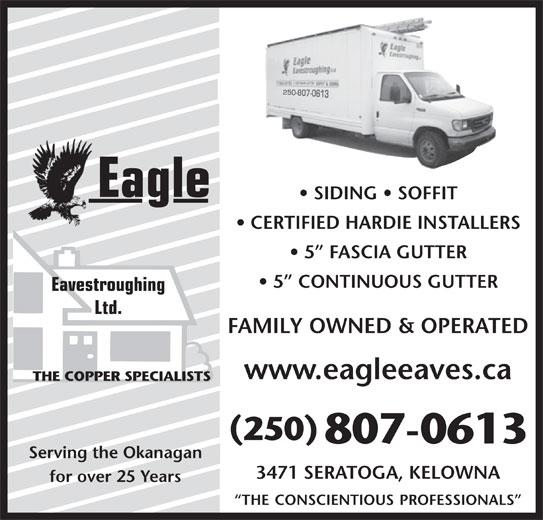 Ads Eagle Eavestroughing Ltd
