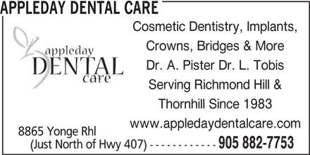 Ads Appleday Dental Care
