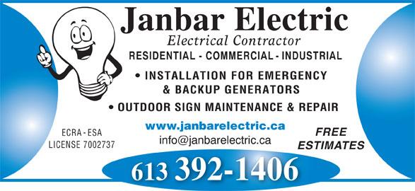 Ontario Electrical Code Outdoor Wiring