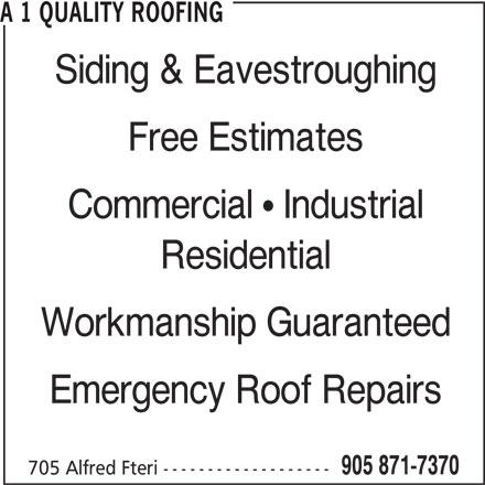 quality roof
