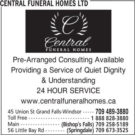 Ads Central Funeral Homes Ltd
