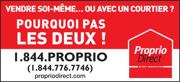 Proprio Direct (1-844-776-7746) - Annonce illustrée======= -