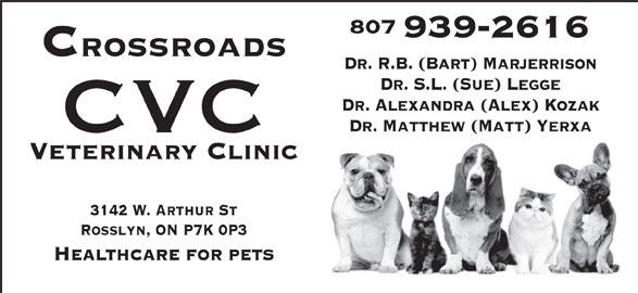 Ads Crossroads Veterinary Clinic (CVC)