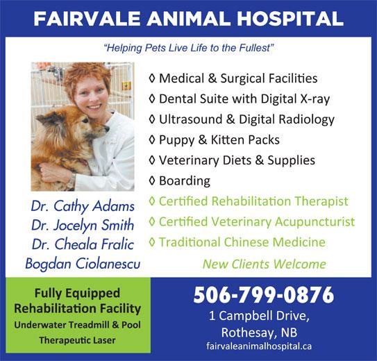 Fairvale Animal (506-847-7519) - Display Ad -