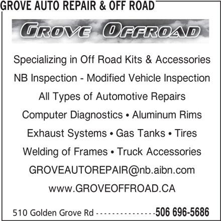 Ads Grove Auto Repair & Off Road