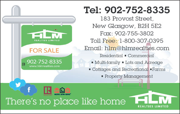 HLM Realties Limited (902-752-8335) - Display Ad -