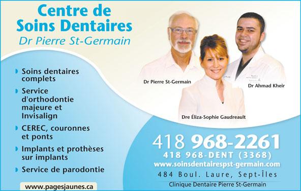 Ads Centre Soins Dentaire Pierre St-Germain