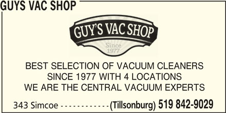 Ads Guy's Vac Shop