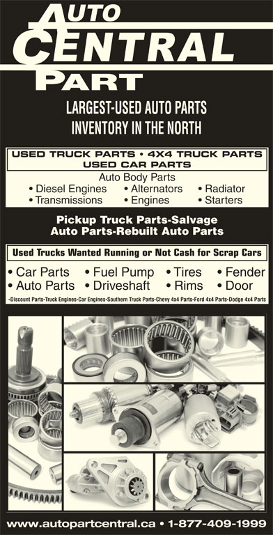 Auto Part Central Opening Hours 412 Birchs Rd North