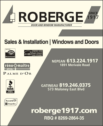 Ads Roberge Doors & Windows