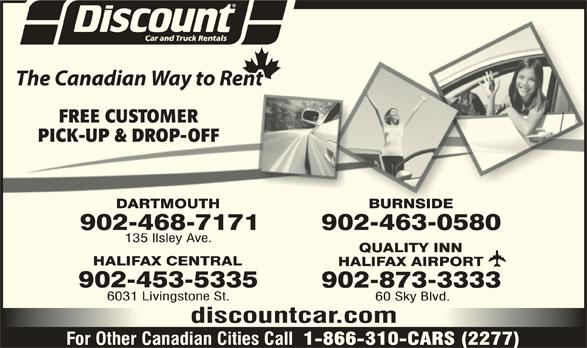 Dartmouth Car Rental Discount