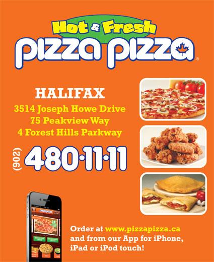 Pizza Pizza (902-480-1111) - Annonce illustrée======= -