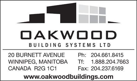 Oakwood Roofing Amp Sheet Metal Co Ltd 20 Burnett Ave