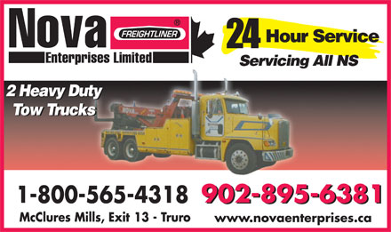 Nova Enterprises Limited (902-895-6381) - Display Ad - www.novaenterprises.ca