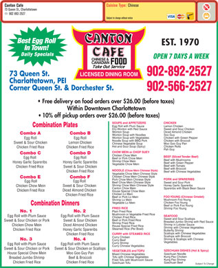 Canton Cafe (902-892-2527) - Display Ad