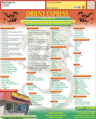 Orient Express Ltd (506-847-2288) - Display Ad