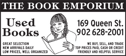 Book Emporium (The) (902-628-2001) - Display Ad