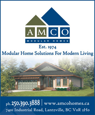 Amco Homes Inc (250-390-3888) - Display Ad