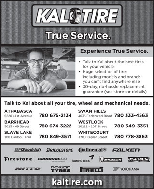 Kal Tire - Display Ad