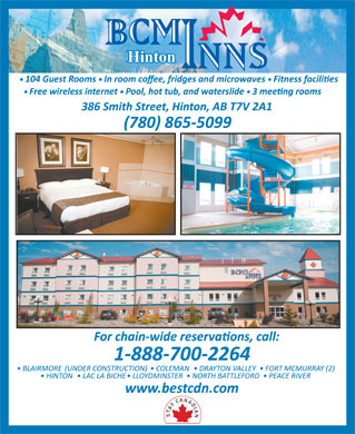 Best Canadian Motor Inns (780-865-5099) - Display Ad