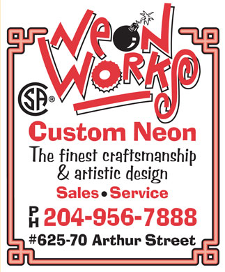 Neon Works (204-956-7888) - Display Ad