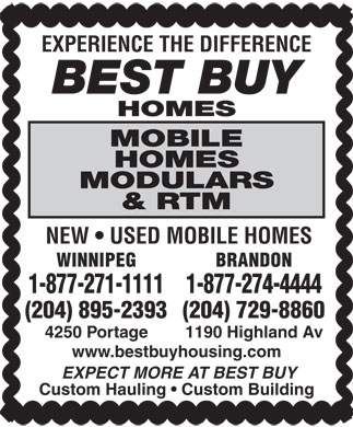 Best Buy Homes (204-515-1473) - Display Ad
