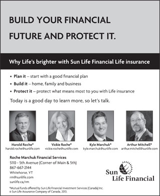 Sun Life Financial (867-667-2144) - Display Ad