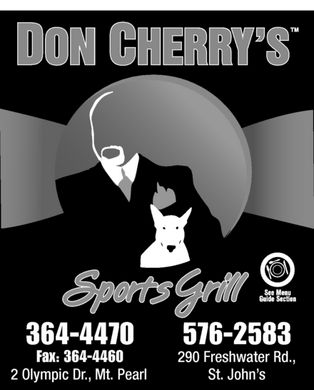 Don Cherry's (709-576-2583) - Display Ad
