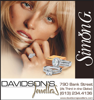 Davidson's Jewellers (613-234-4136) - Display Ad