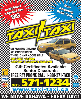 Taxi-Taxi (905-571-1234) - Display Ad