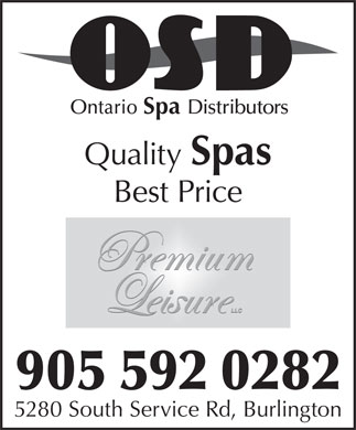 Arctic Spas Inc (905-592-0282) - Annonce illustrée - Ontario Spa Distributors Quality Spas Best Price 905 592 0282 5280 South Service Rd, Burlington