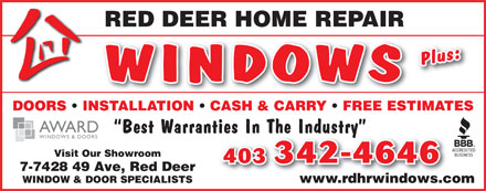 Red Deer Home Repair (403-406-9026) - Display Ad