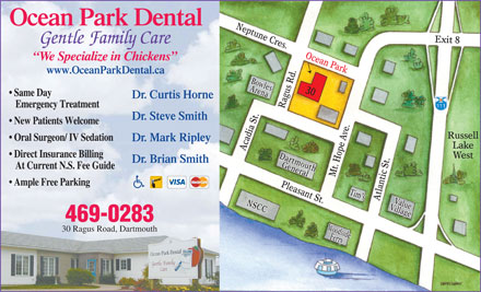 Ocean Park Dental (902-469-0283) - Display Ad