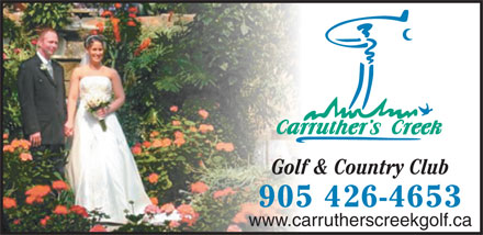 Carruther's Creek Golf & Country Club (905-426-4653) - Annonce illustrée