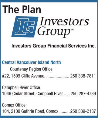 Investors Group Financial Services (250-338-7811) - Display Ad