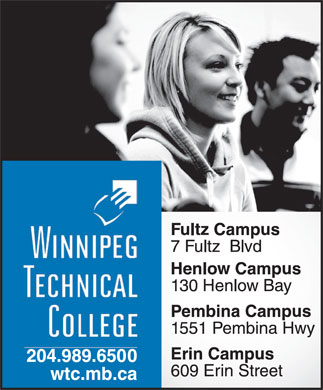 Winnipeg Technical College (204-989-6500) - Display Ad
